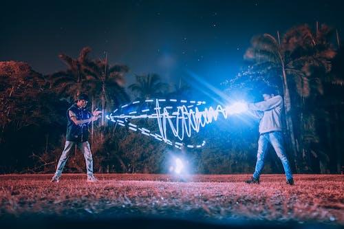 คลังภาพถ่ายฟรี ของ กลางคืน, กลางแจ้ง, การกระทำ, การถ่ายภาพ