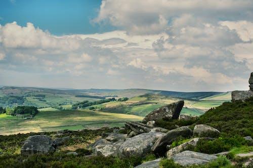 Free stock photo of field, landscape, rock