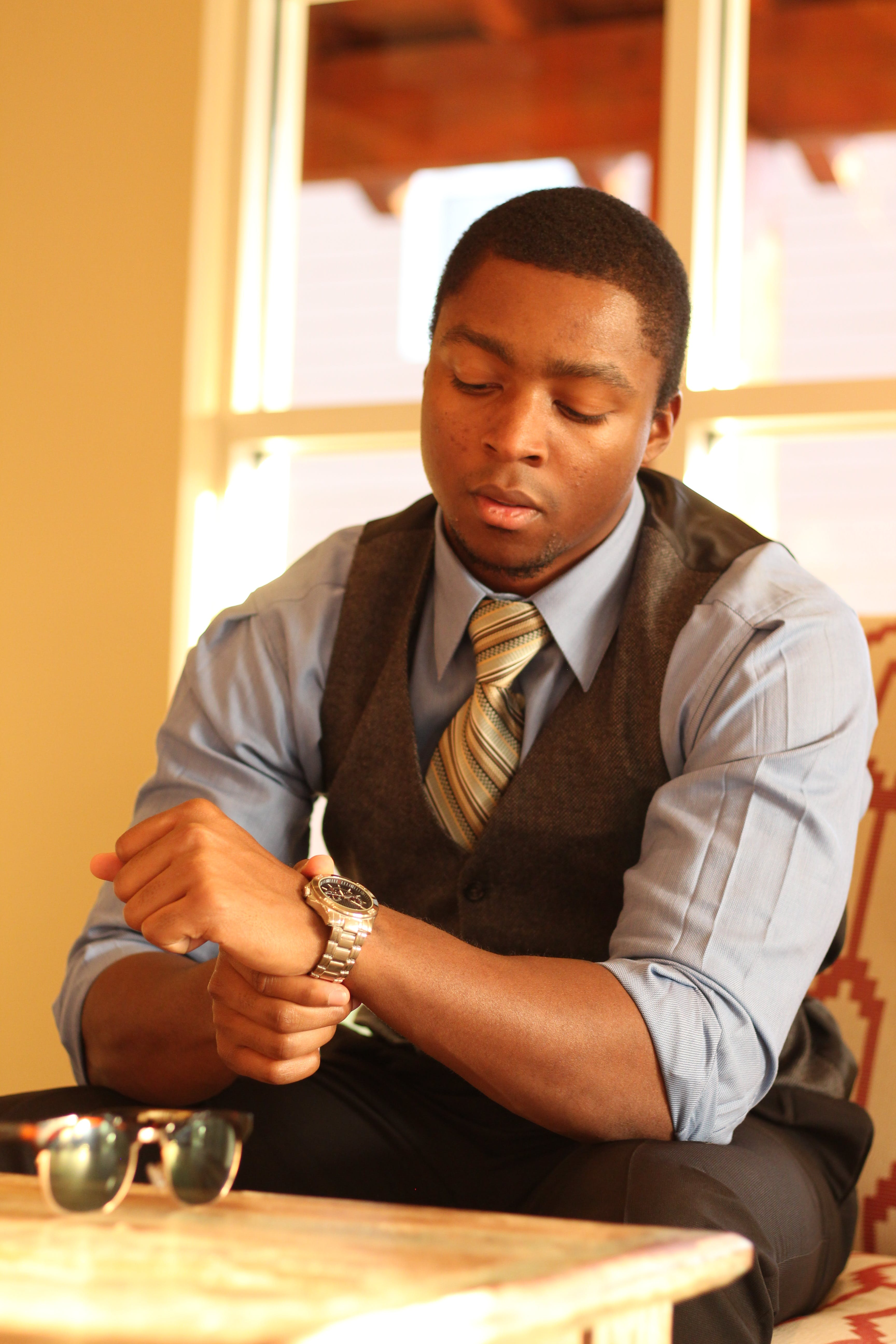 Free stock photo of african american, business casual, business man, D'Vaughn Bell