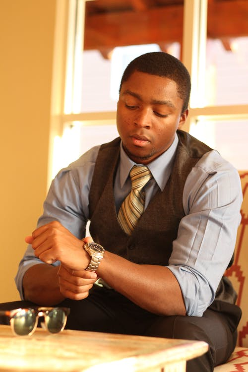 Free stock photo of african american, business casual, business man