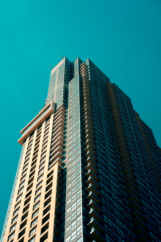 Gratis lagerfoto af arkitektur, bygning, fotografering fra lav vinkel, moderne arkitektur