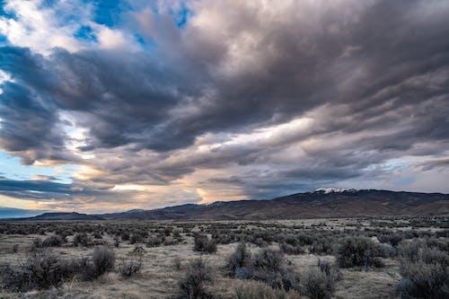 Foto stok gratis awan, gersang, gunung, gurun