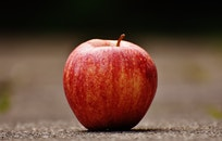 food, healthy, apple