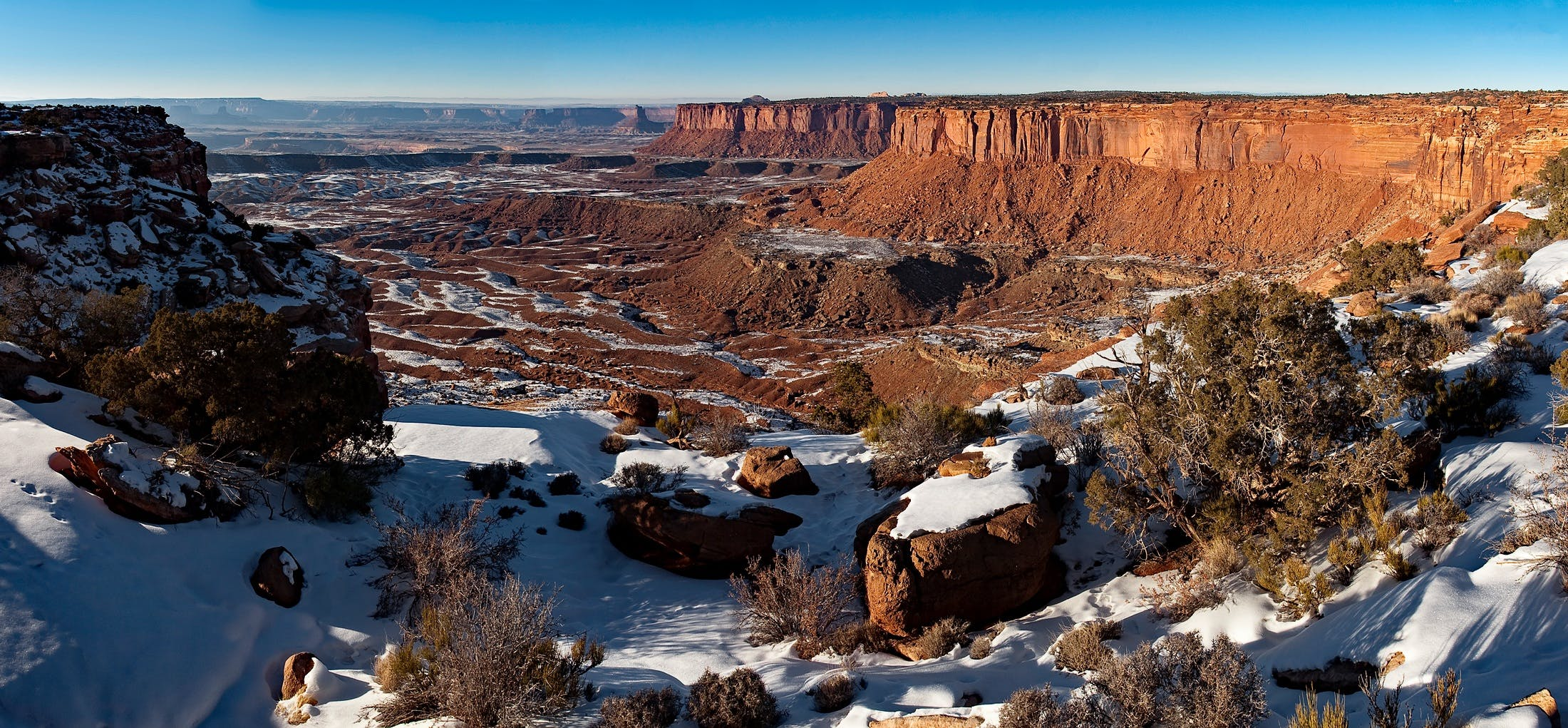 berg, canyon, canyonlands nationalpark