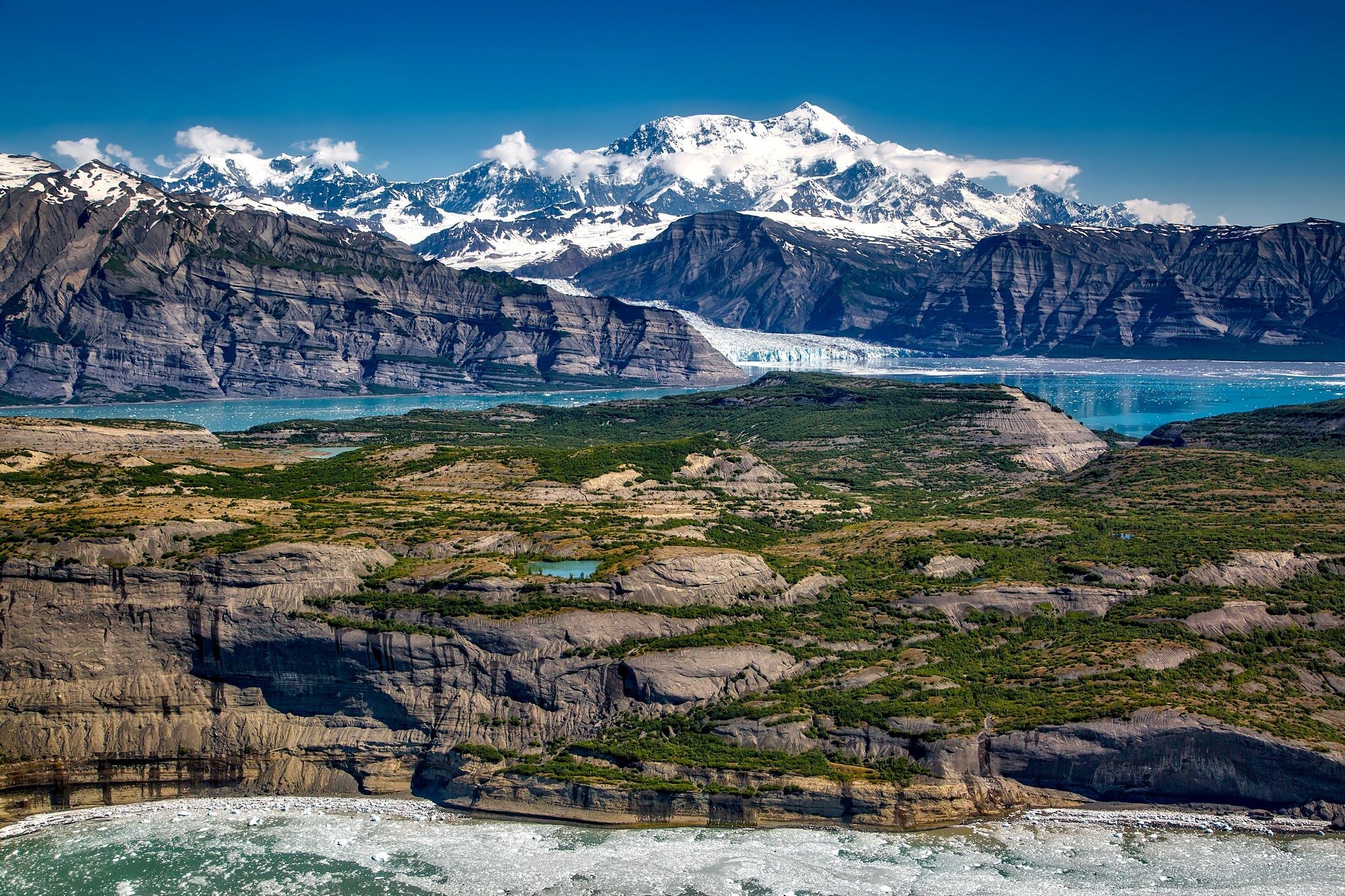 Free stock photo of glacier, snow, sea, landscape