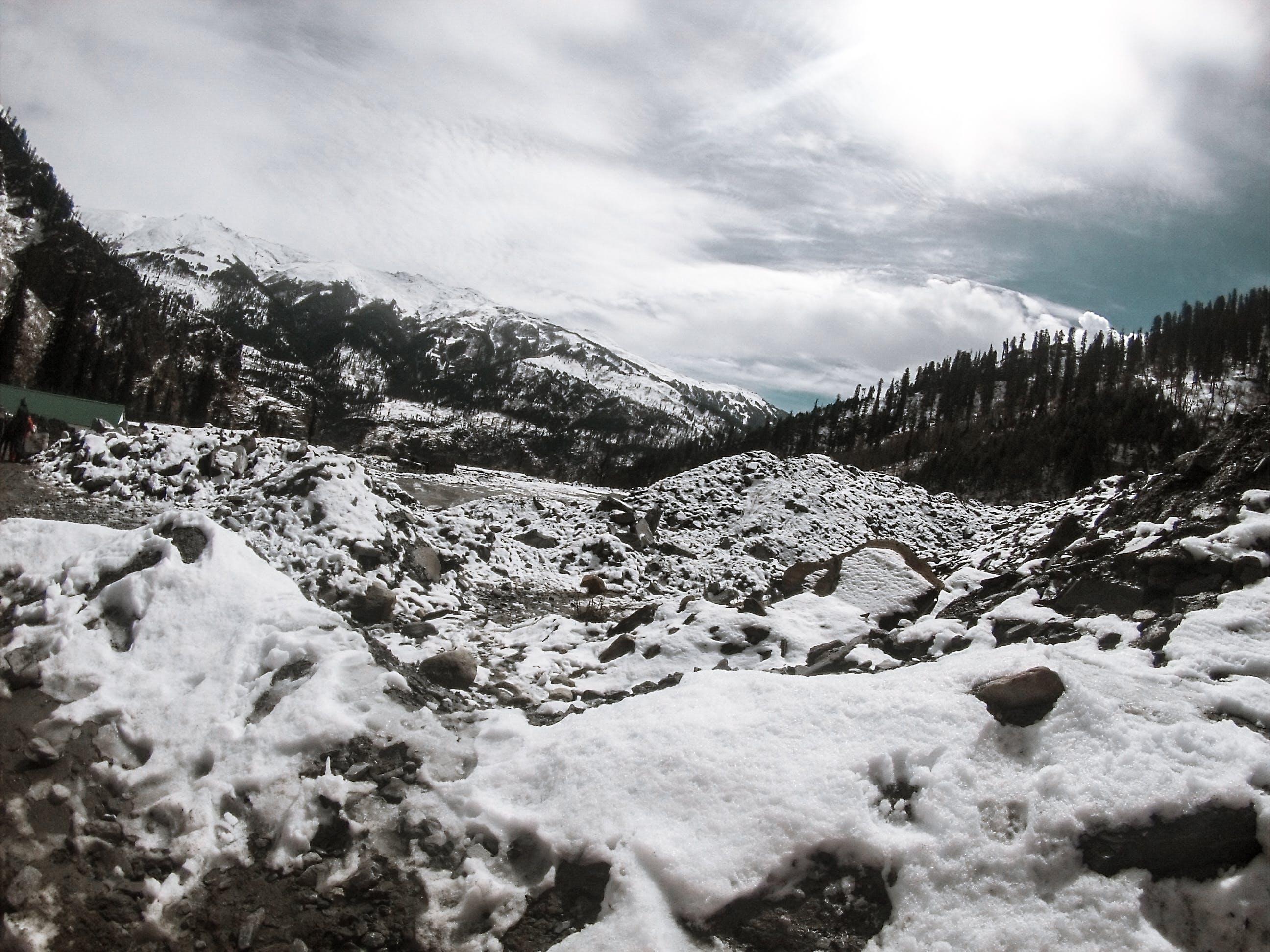 Free stock photo of mountains, snow
