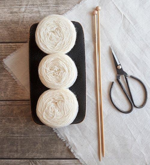 Gratis stockfoto met alpaca, breien, draadgaren, wol