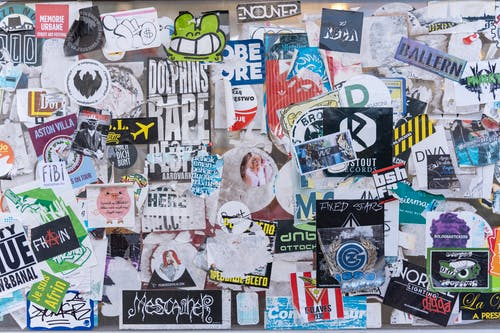 Free stock photo of stickers