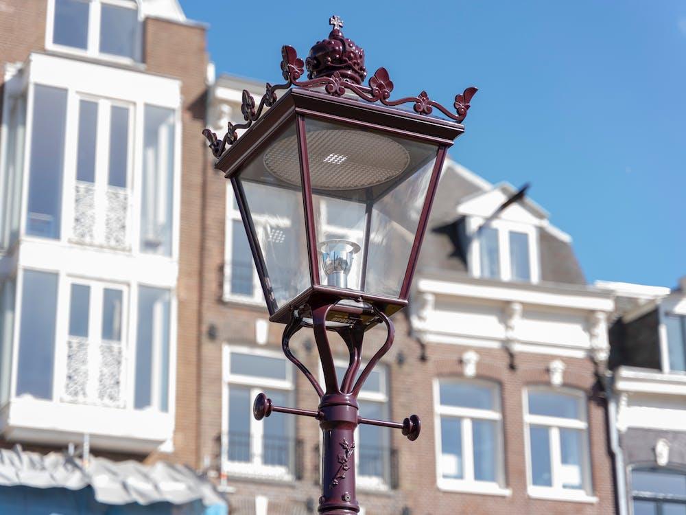 just this, street light