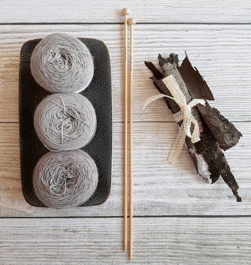 Gratis stockfoto met breien, draadgaren, haken, wol