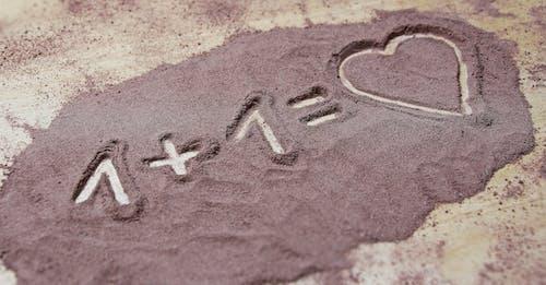 Základová fotografie zdarma na téma číslo, láska, písek, pláž