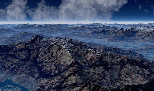 Fotos de stock gratuitas de con niebla, escénico, montañas, naturaleza