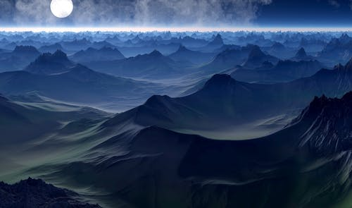 Бесплатное стоковое фото с вечер, волны, высокий, горизонт