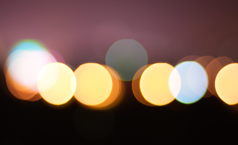belyst, design, farve