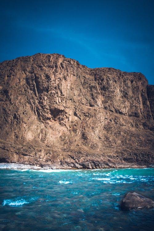 Cliff Near Ocean