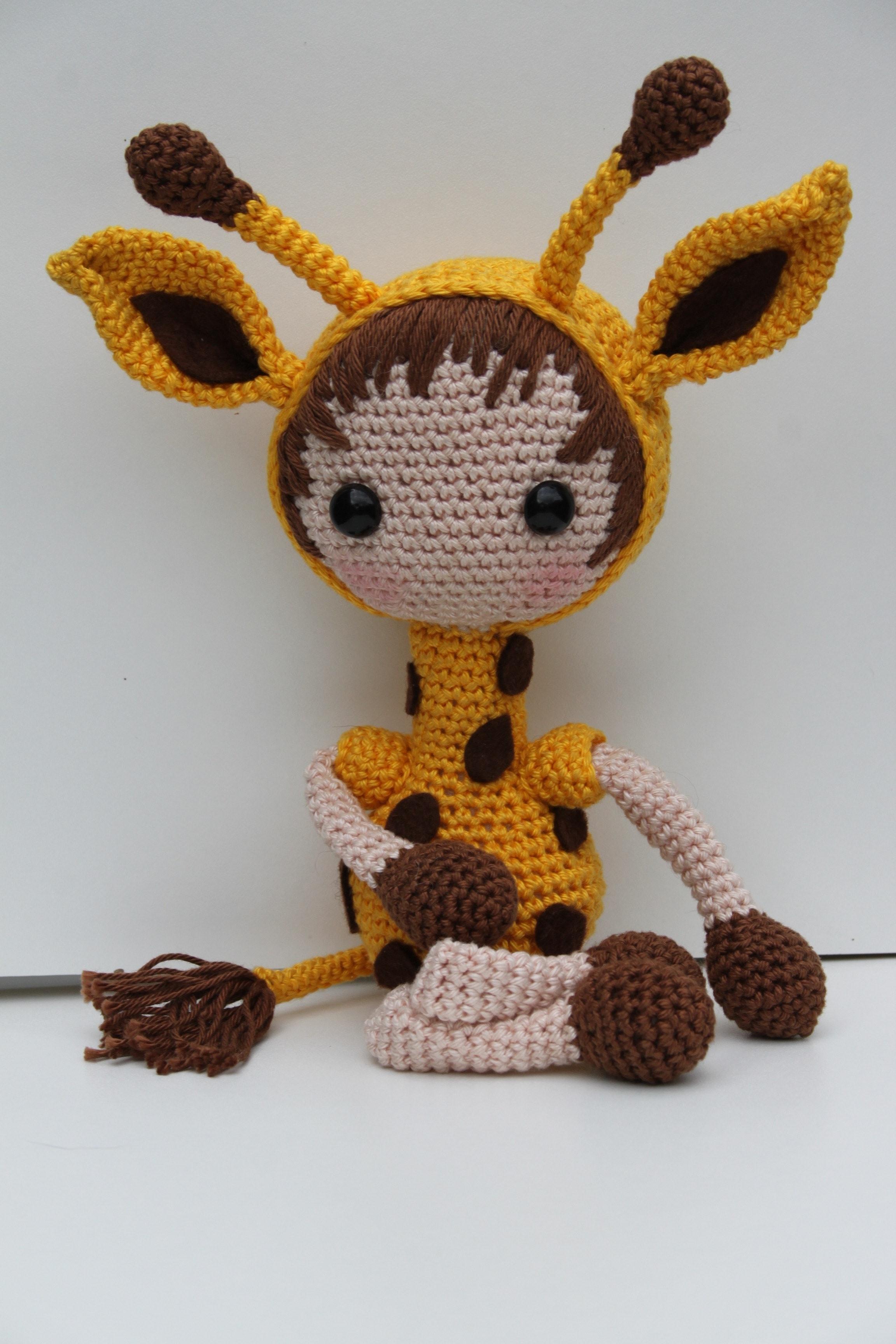 Free stock photo of crochet, crochet giraffe, crochet pattern giraffe