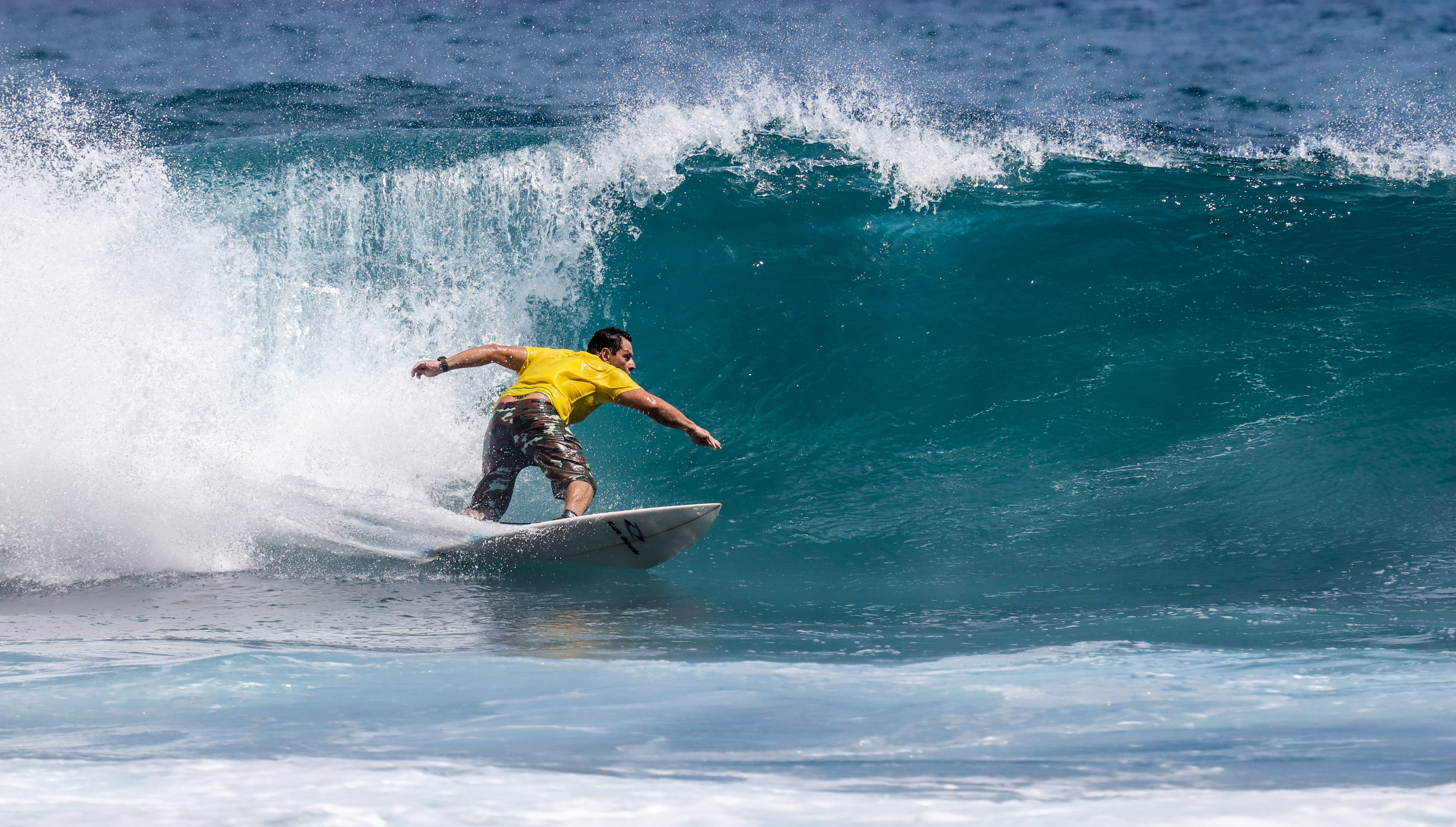 Photo of Person Surfing During Daytime