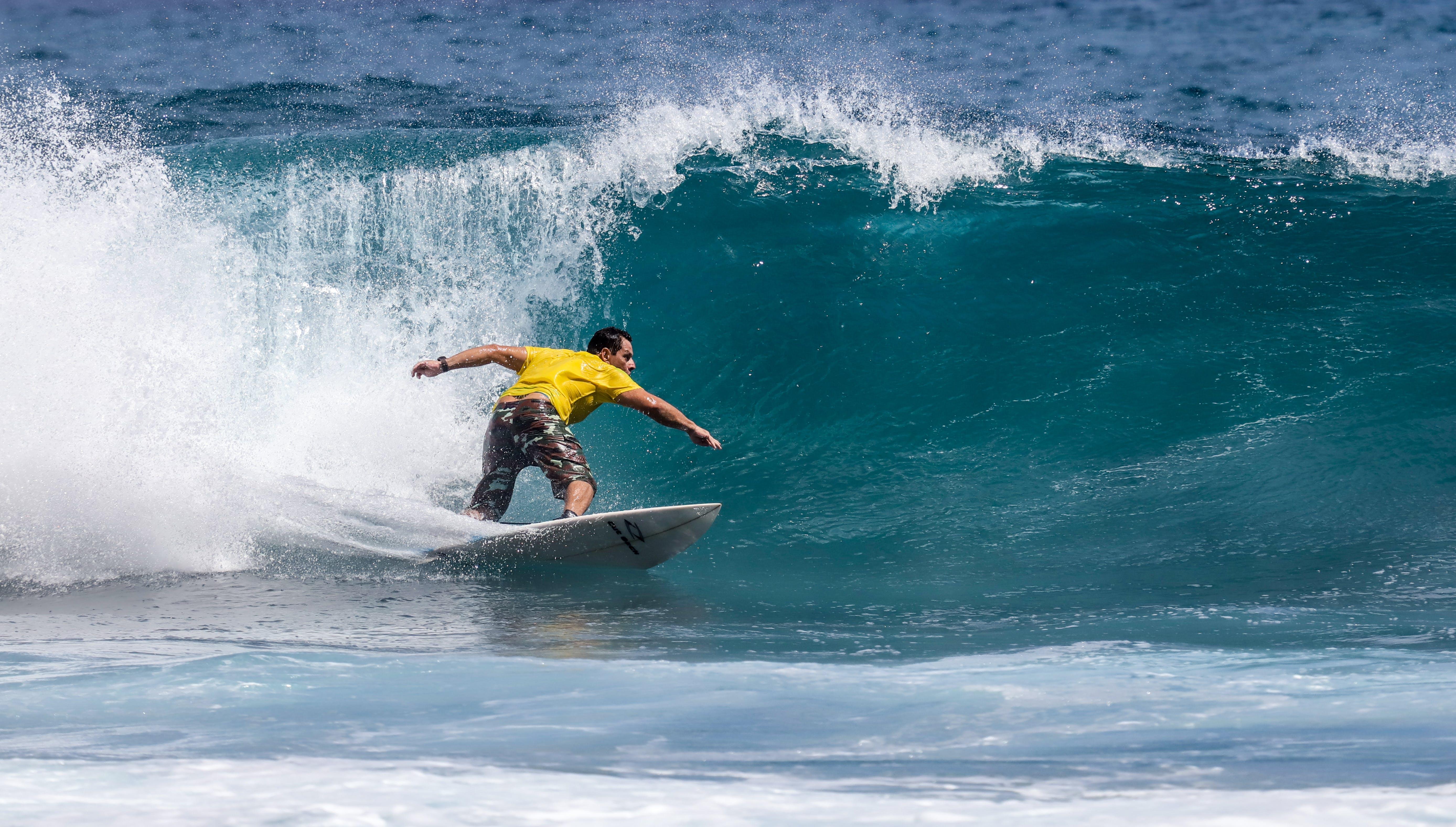 Δωρεάν στοκ φωτογραφιών με Surf, surfrider, άθλημα, αναψυχή