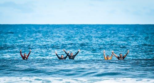 Gratis lagerfoto af blå, blåt vand, bølge, bølger