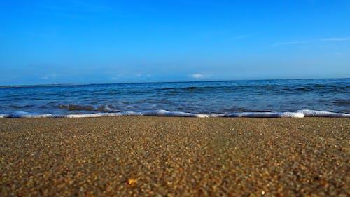 天空海和沙子 的 免費圖庫相片