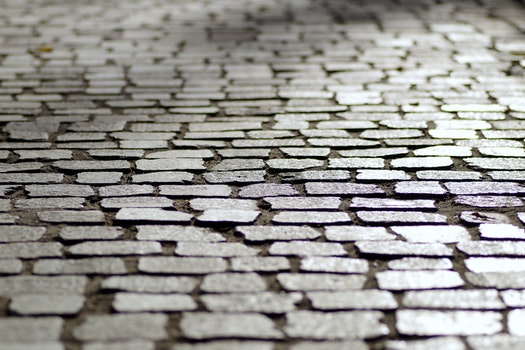 Free stock photo of street, dirty, bricks, pattern