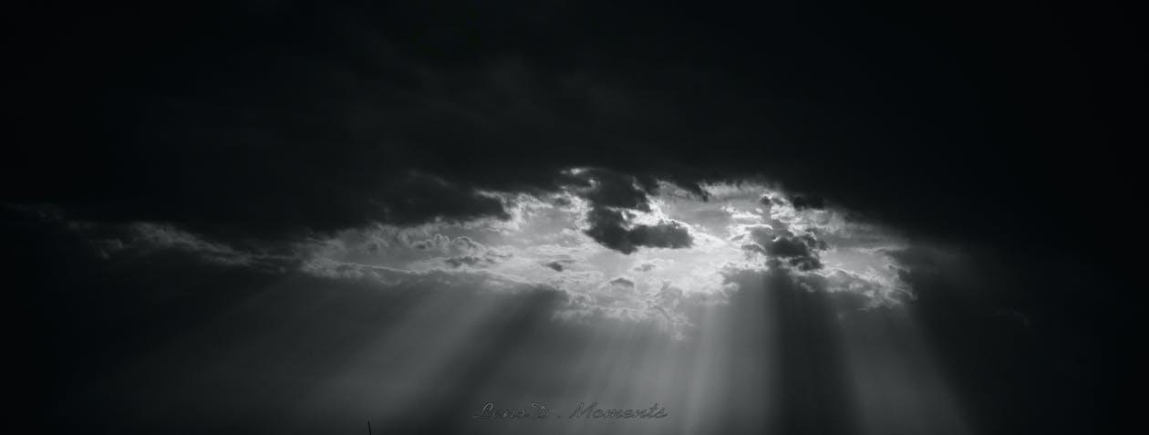 відтінки, монохромні фотографії, промінь сонця