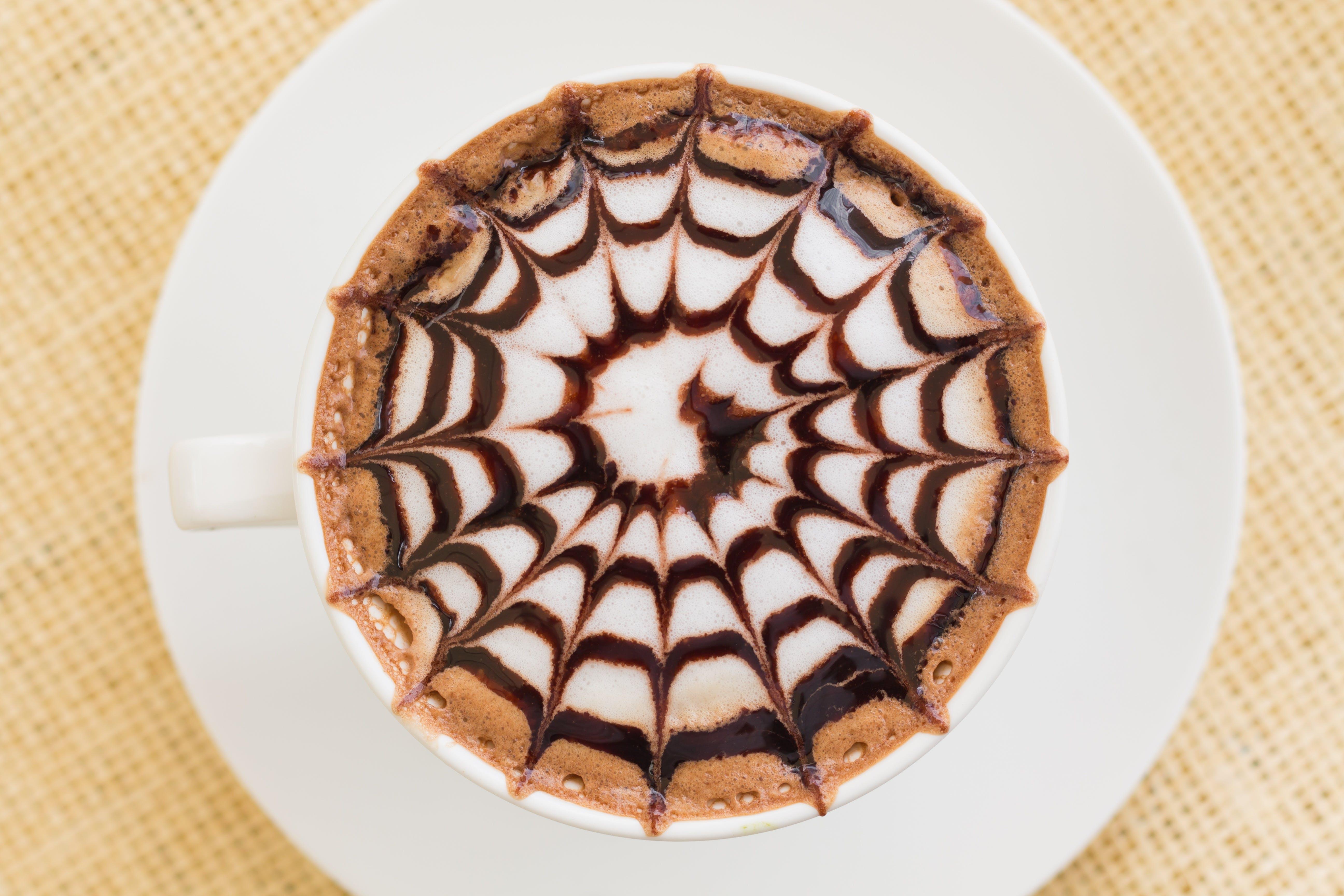 Cappuccino Coffee on Mug