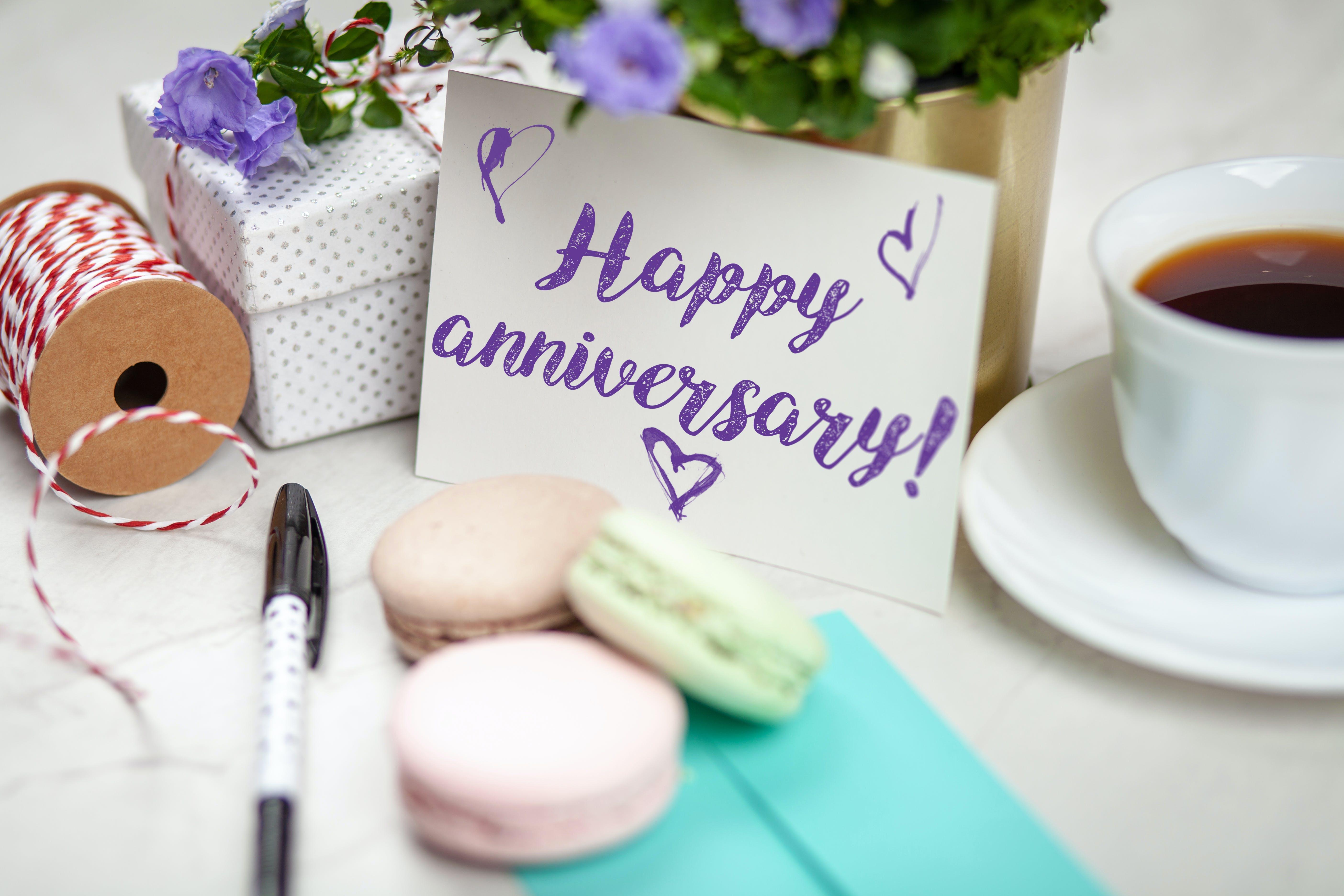 Happy Anniversary Signage