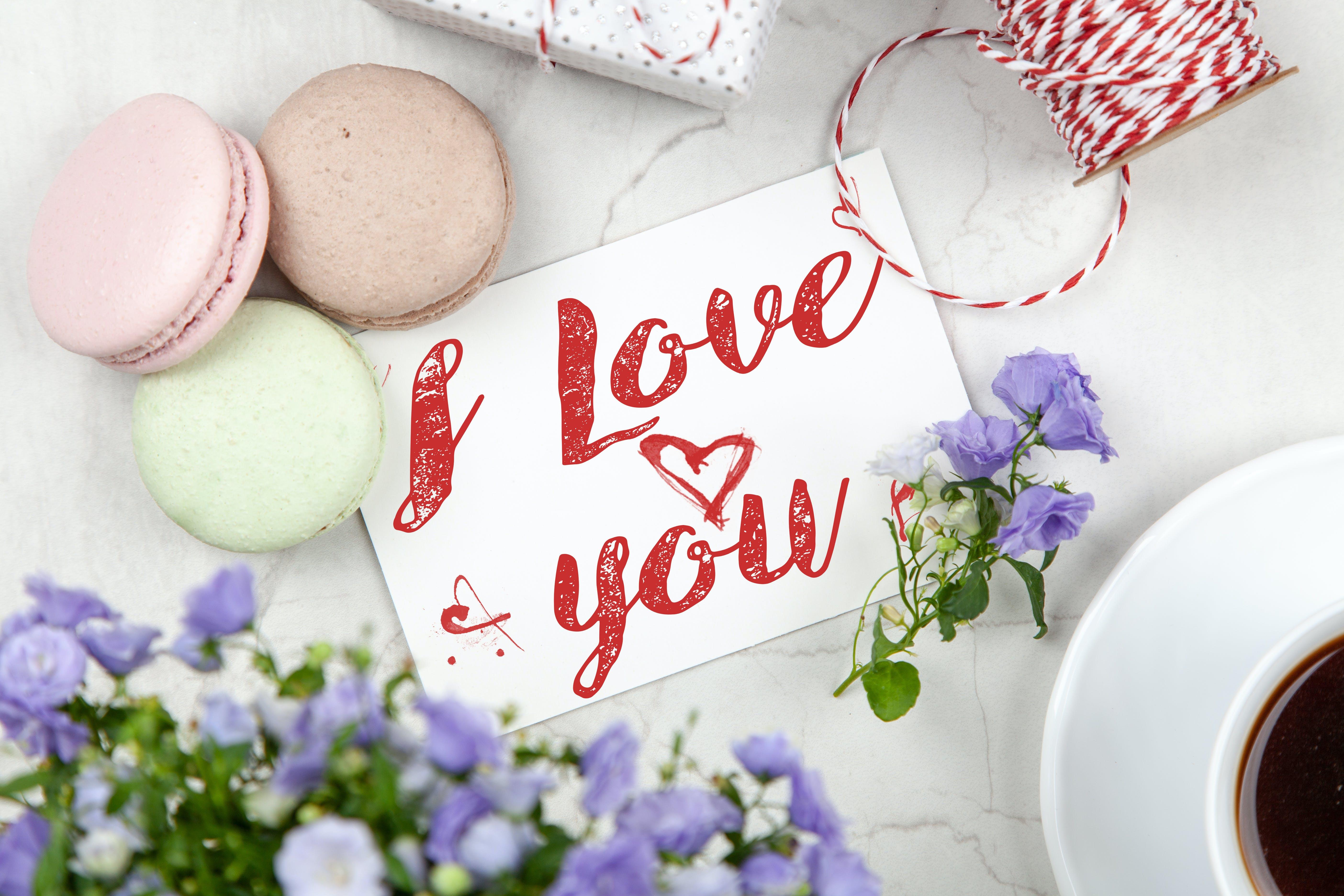 I Love You Signage
