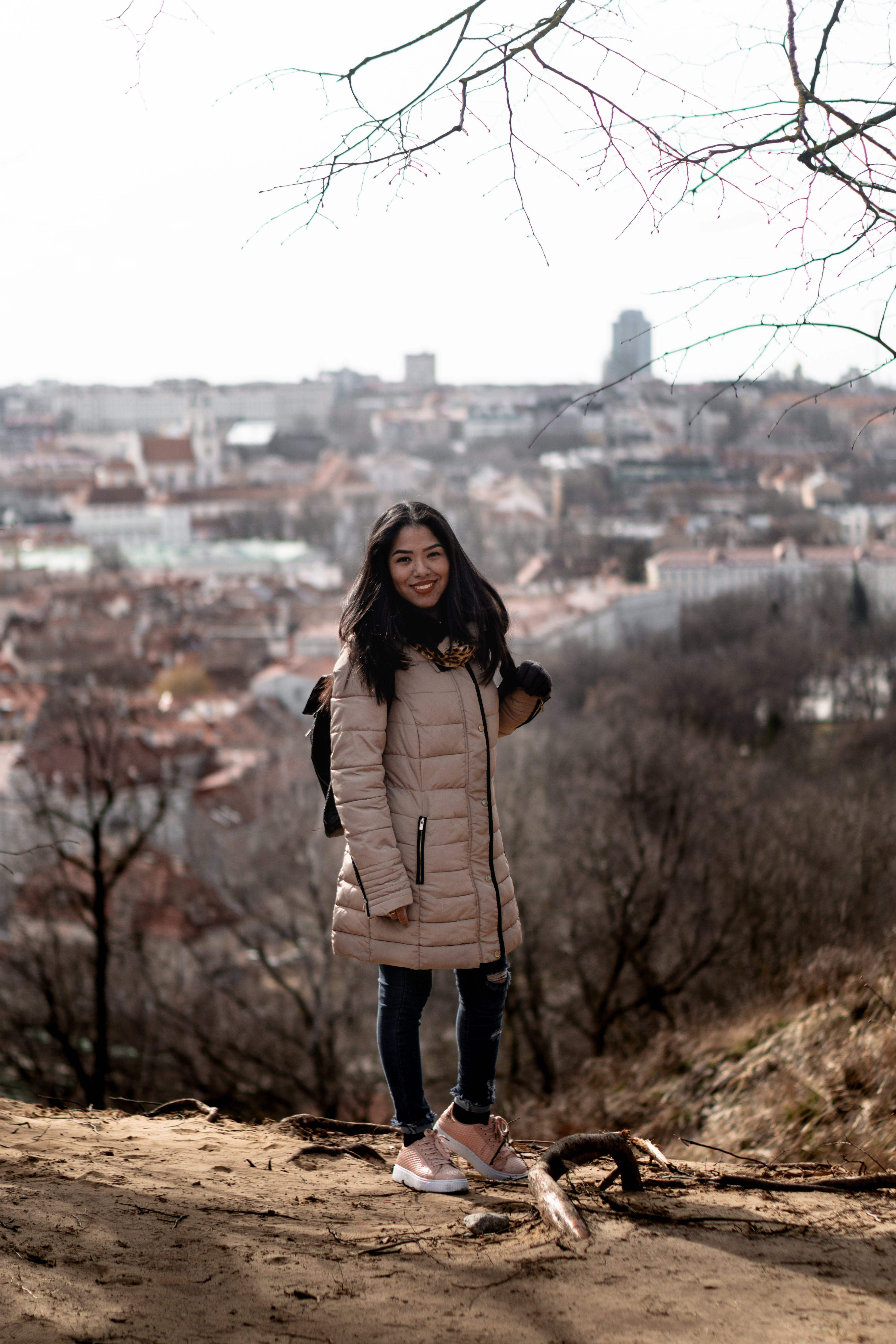 Free stock photo of city, city scape, girl, panorma