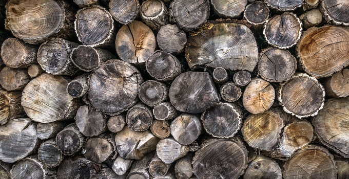 Desktop background of curve, pattern, texture, firewood