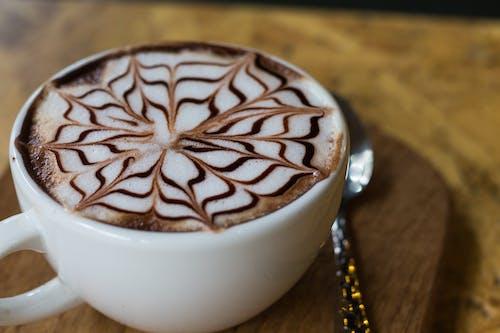 Ingyenes stockfotó bögre, cappuccino, csésze, ital témában