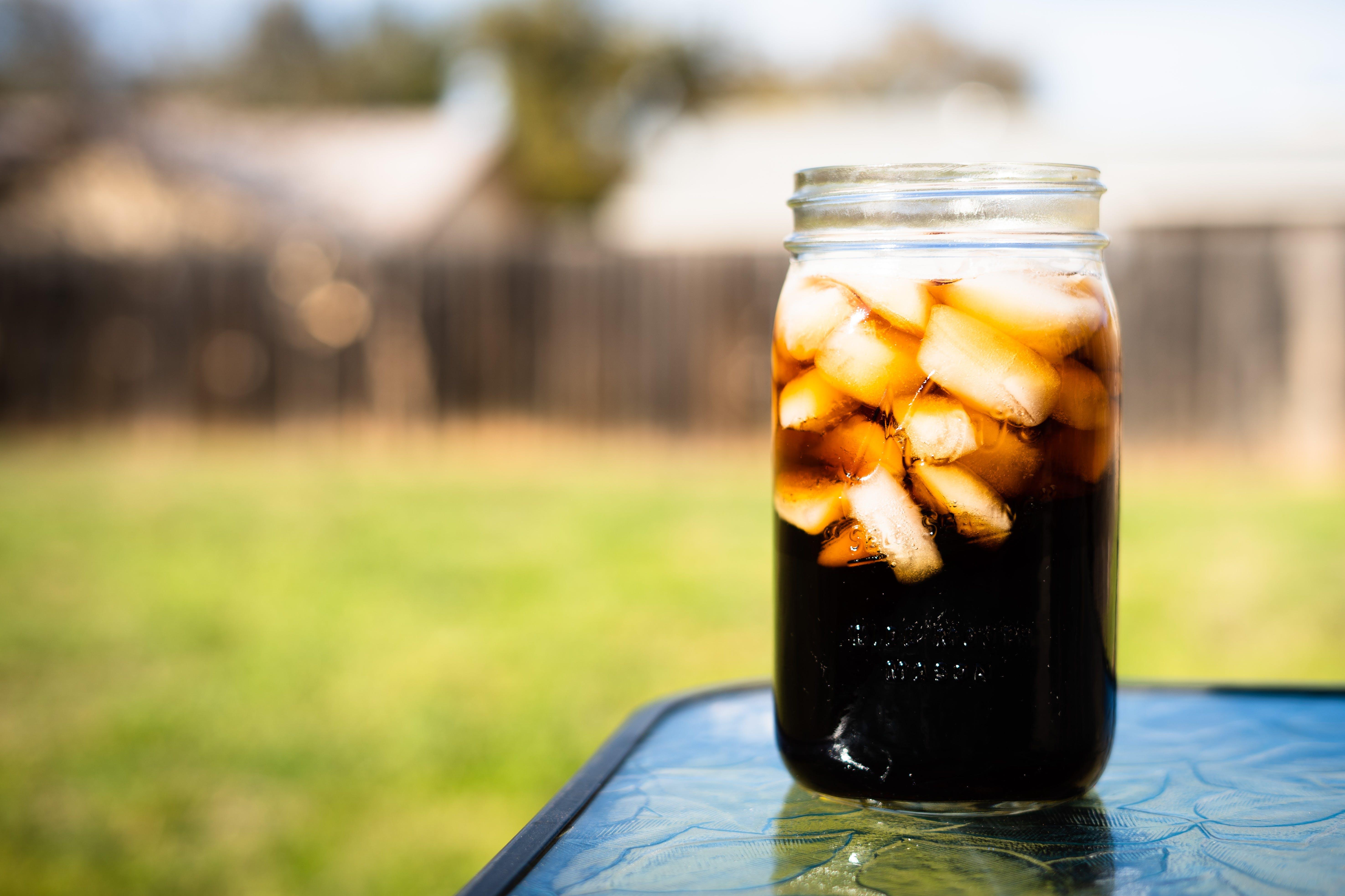 Free stock photo of background, backyard, beverage, black
