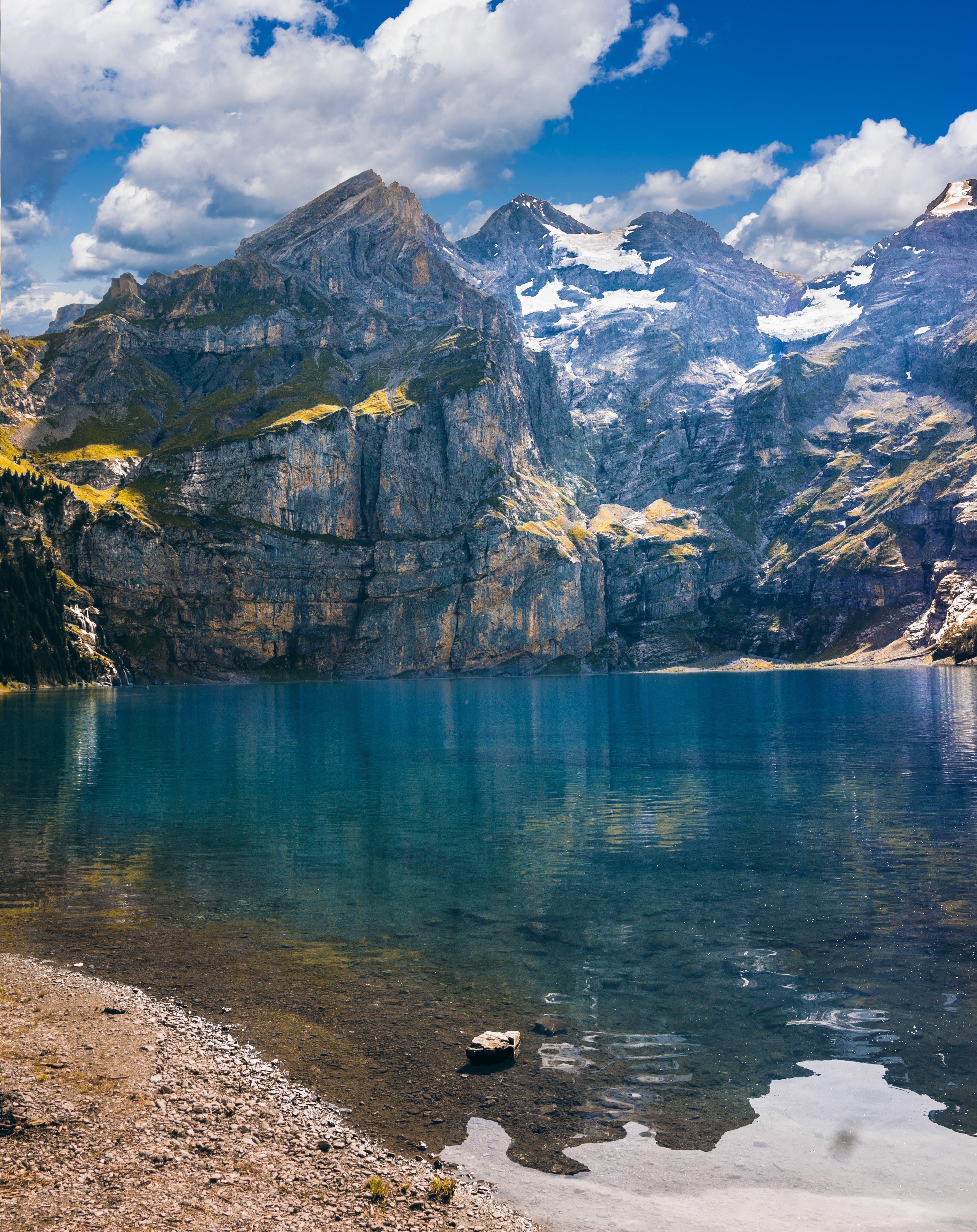 Foto profissional grátis de água, cênico, montanha, natureza