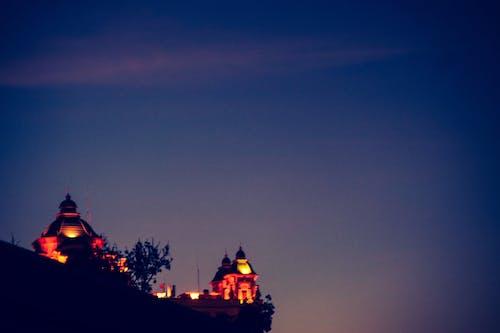 Ingyenes stockfotó biulding, ég, éjszaka, fény témában