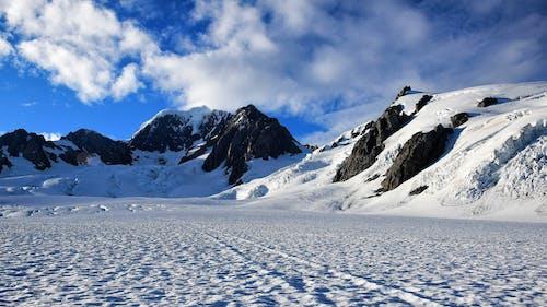 Foto d'estoc gratuïta de blanc, blau, constipat, hivern