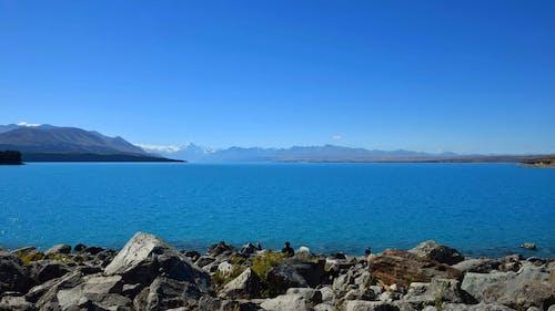 Immagine gratuita di acqua, azzurro, cieli blu, lago