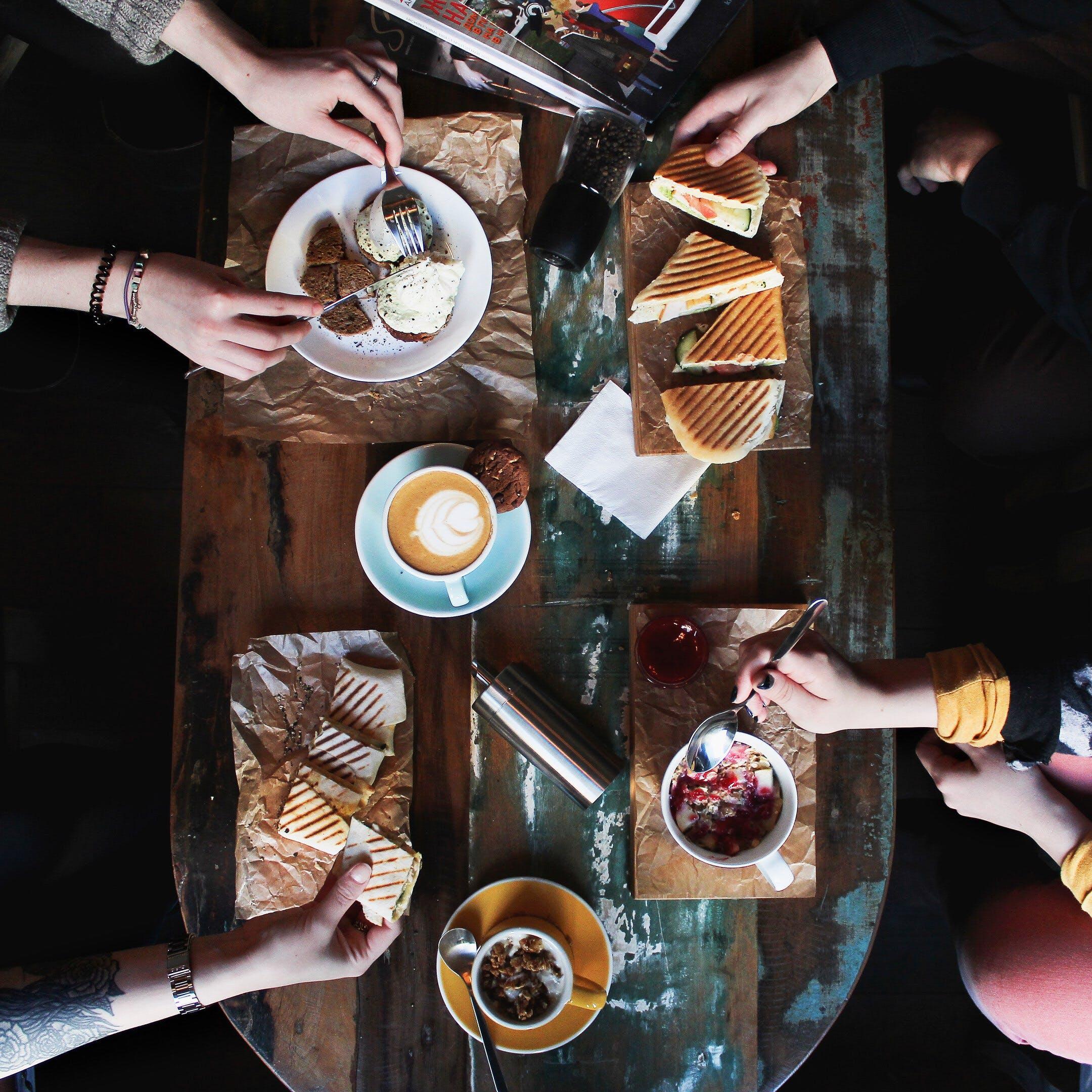 Foto profissional grátis de alimento, bebida de café, café, coffee art