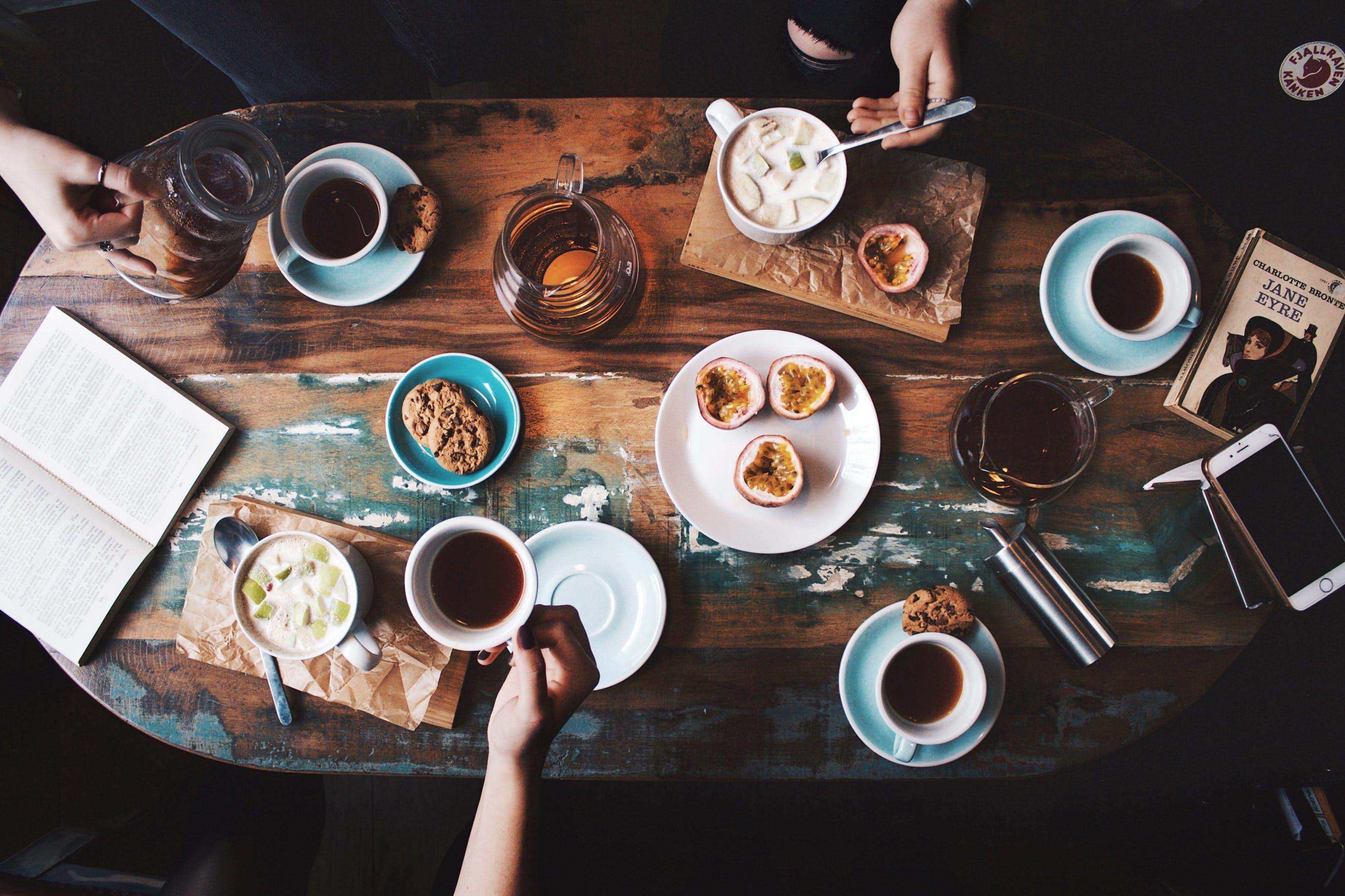 Kostenloses Stock Foto zu café, essen, fokus, getränke