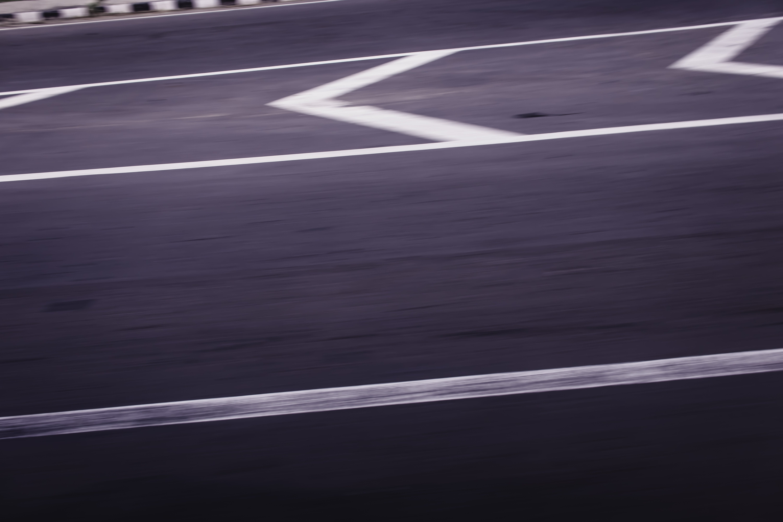 Δωρεάν στοκ φωτογραφιών με time lapse, άσφαλτος, αυτοκινητόδρομος, βέλη