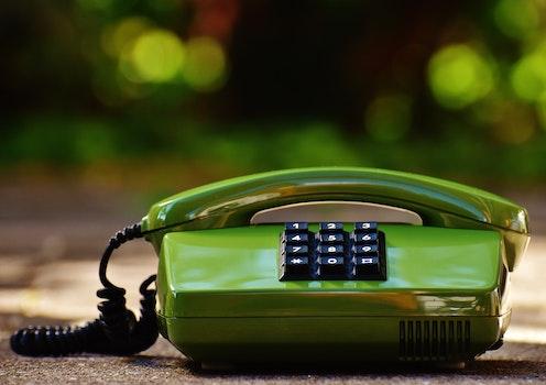 Free stock photo of macro, phone, telephone