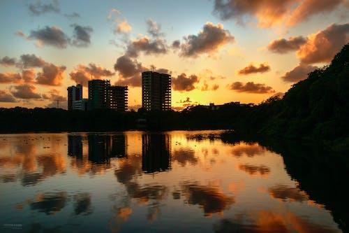 Free stock photo of céu, clouds, lagoa do araçá, landscape