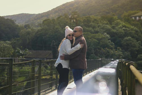 Free stock photo of couple, landsape, love