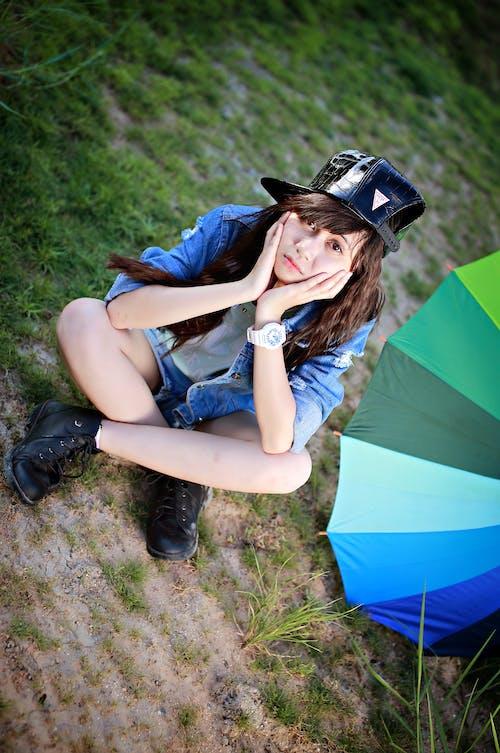 Foto d'estoc gratuïta de adolescent, barret, estil de vida, estiu