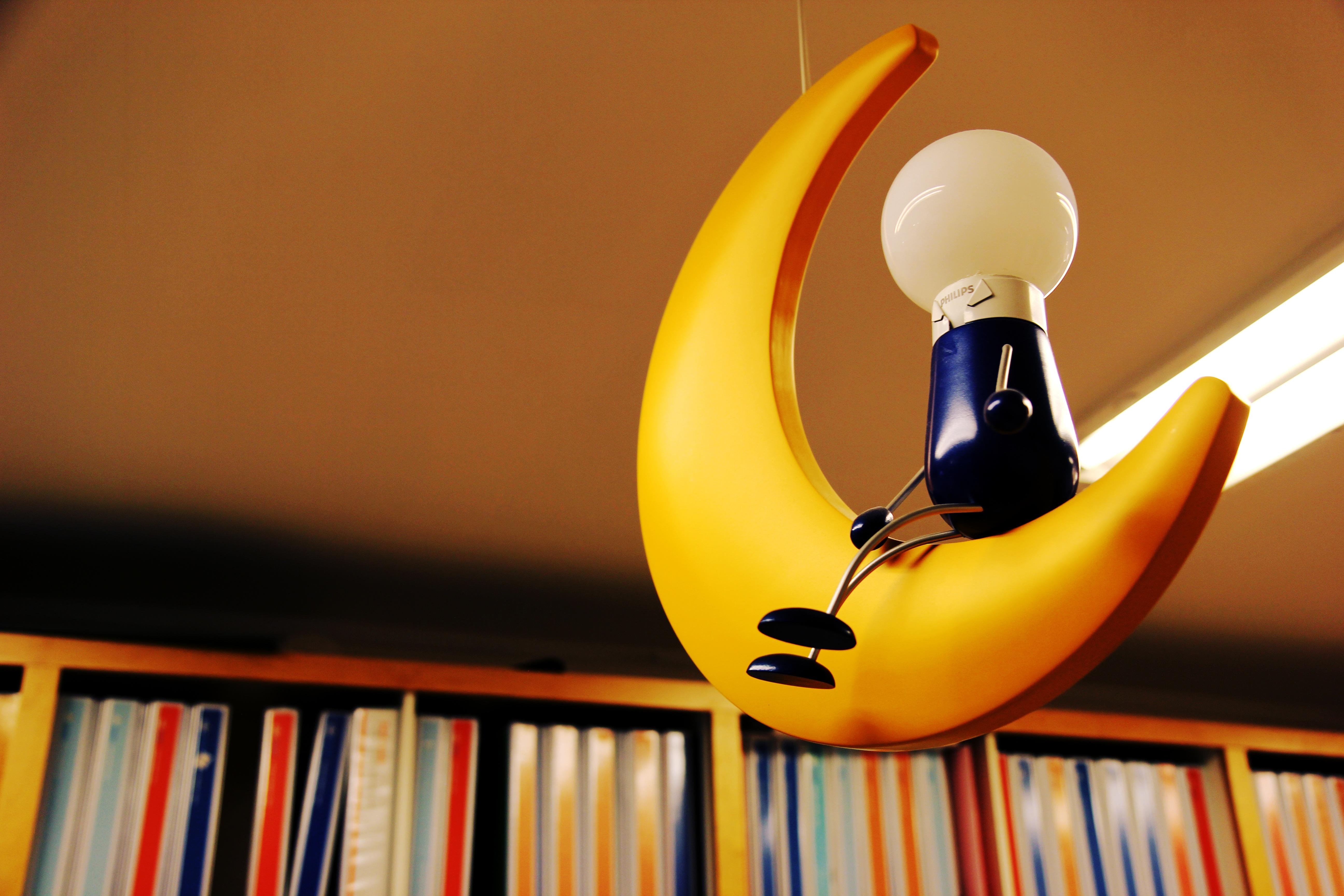 Photo of Yellow Moon Hanging Lamp