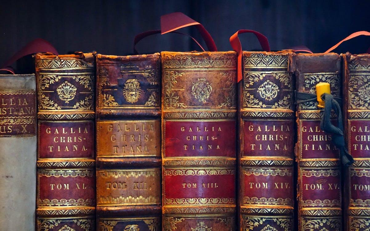 antik, bøger, bogreol