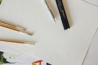 pen, writing, pencil