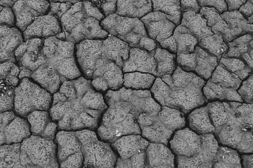 간, 균열, 그레이, 땅의 무료 스톡 사진