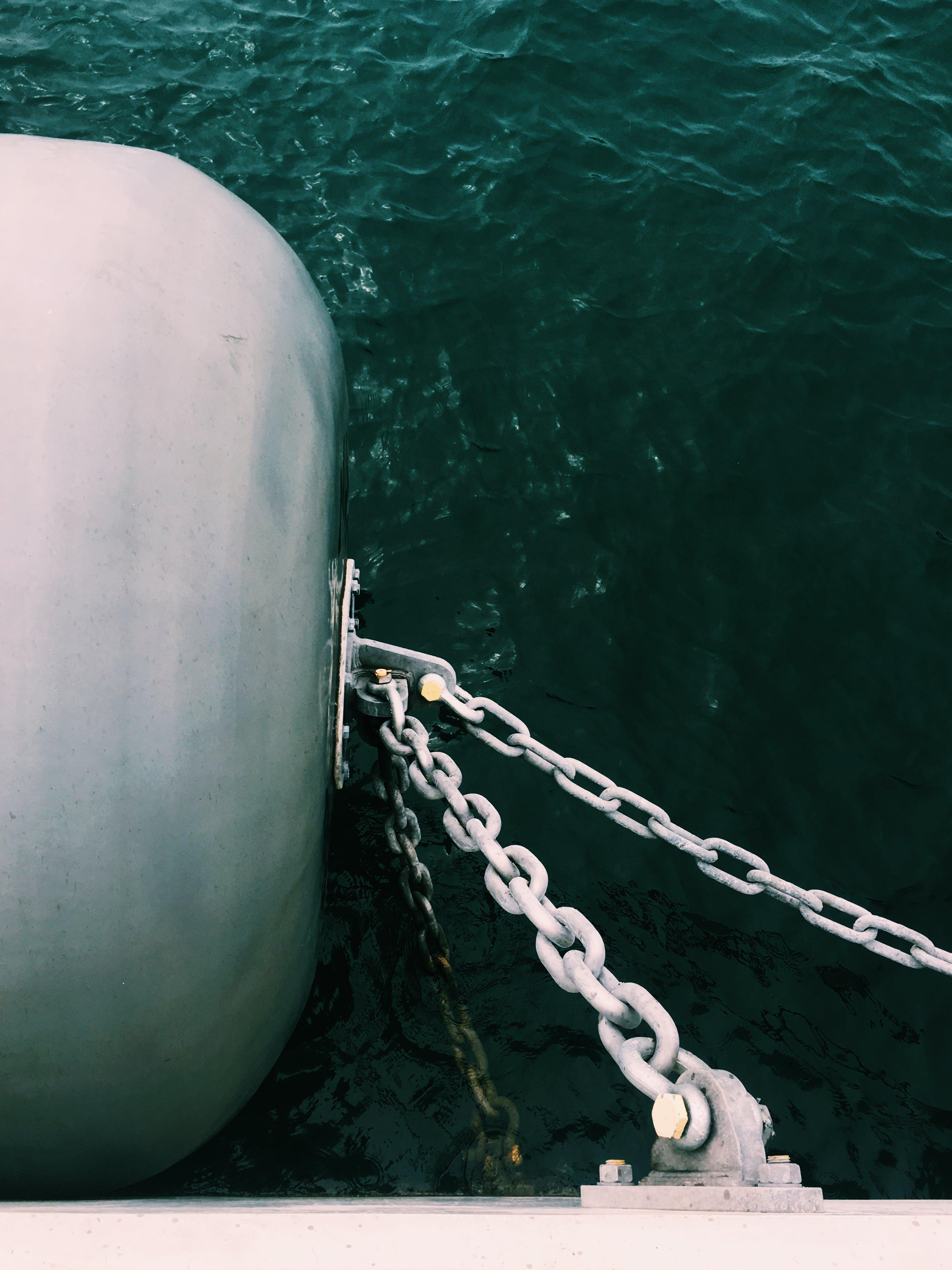 Foto d'estoc gratuïta de blanc, boia, mar, militar