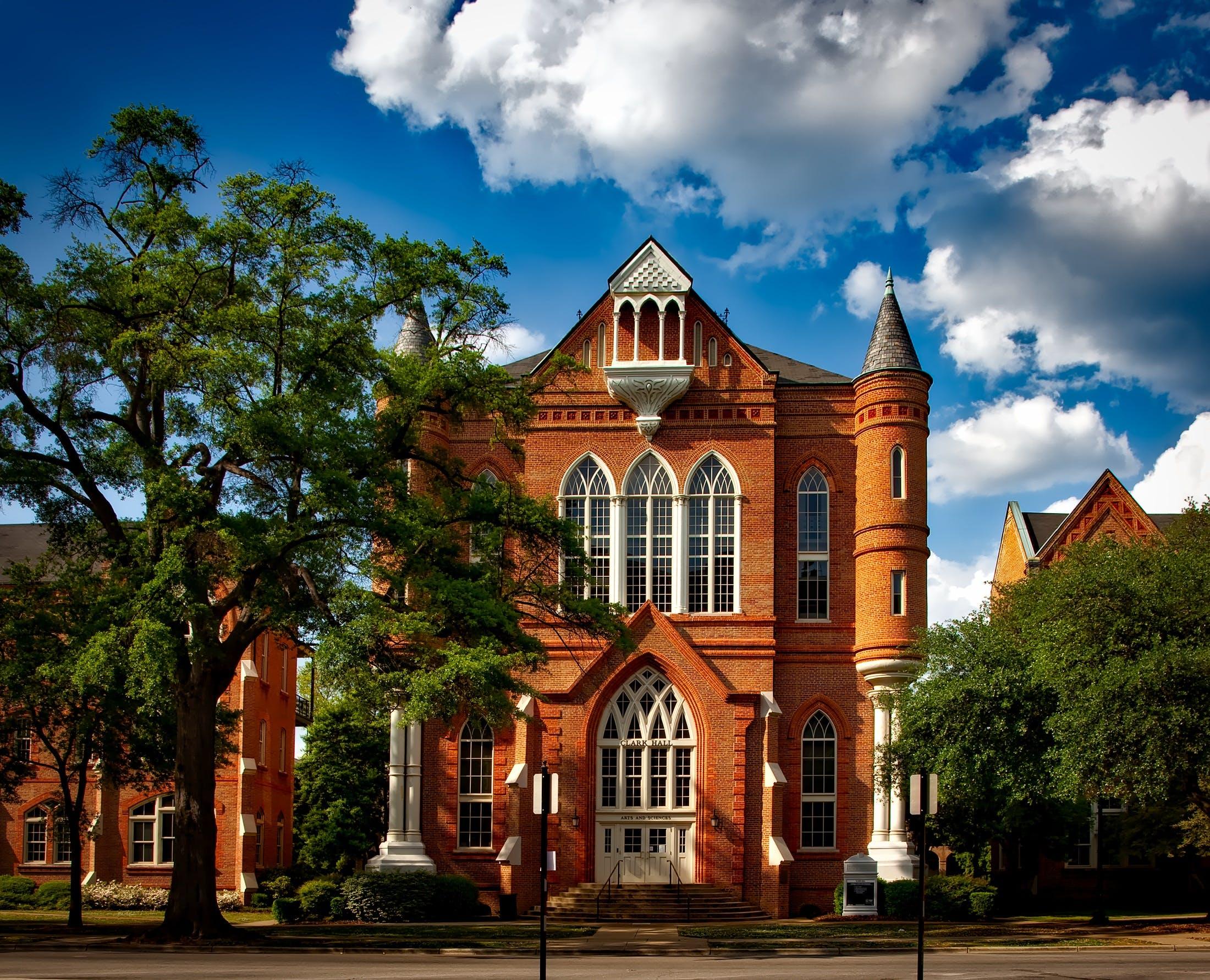 architecture, building, campus